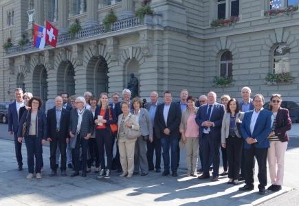 Die Besucher aus Zofingen